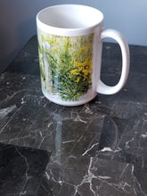 Load image into Gallery viewer, Yellow Flower Orange Butterfly Mug