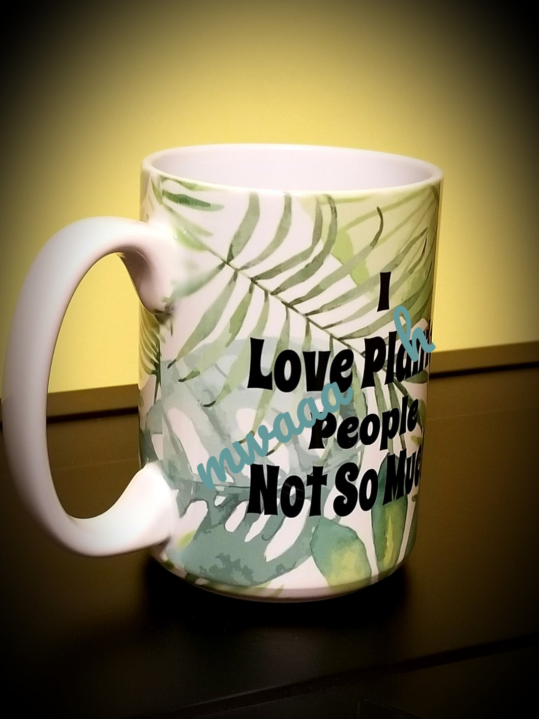 I Love Plants People Not So Much Mug
