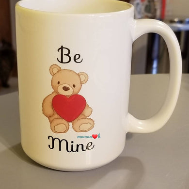 Be Mine Teddy Mug