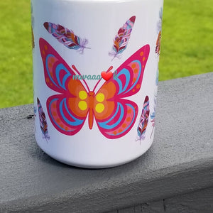 Colorful Butterflies Mug