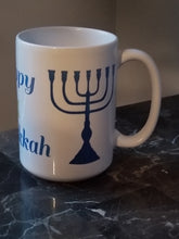 Load image into Gallery viewer, Happy Hanukkah Mug