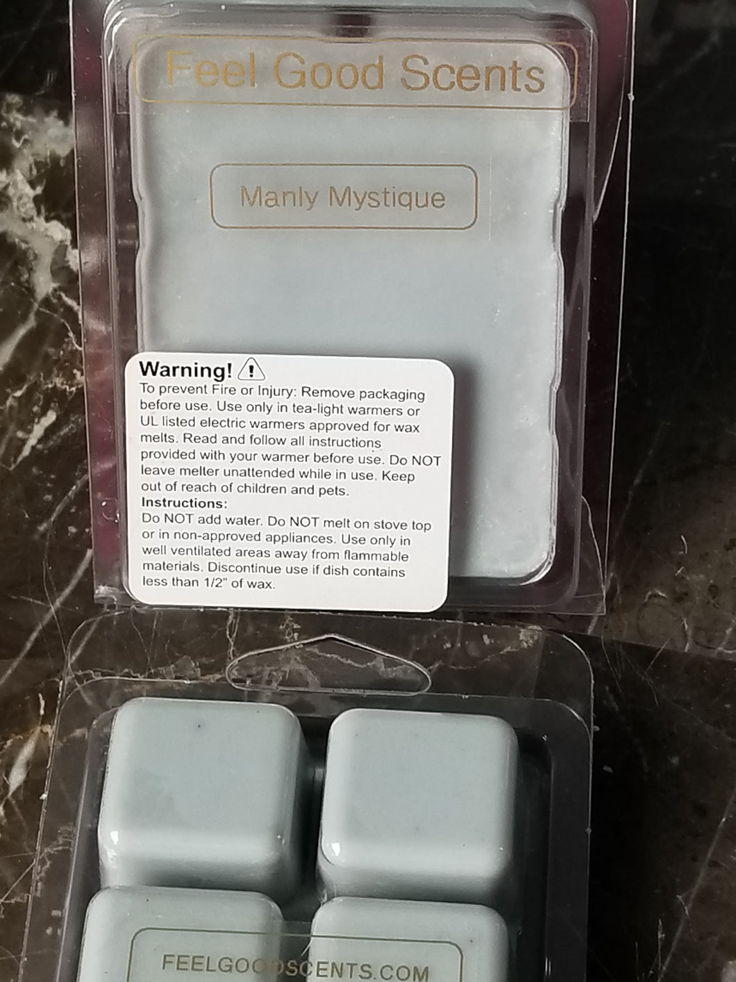 Manly Mystique Wax Melts