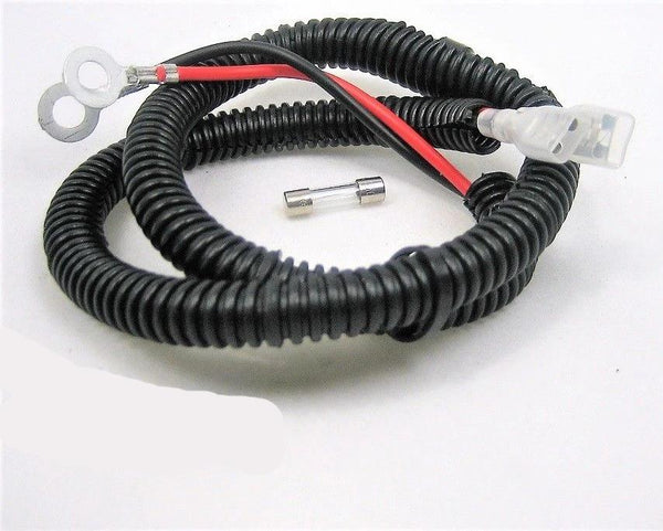 Astonishing Motorcycle Fused 10A Wire Cable Harness W Terminals 12 Volt Plug Wiring 101 Dicthateforg