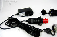 Motorcycle Safe For Gel Cell, AGM Automatic Smart Battery 12 V Trickle Charger - 12-vtechnology