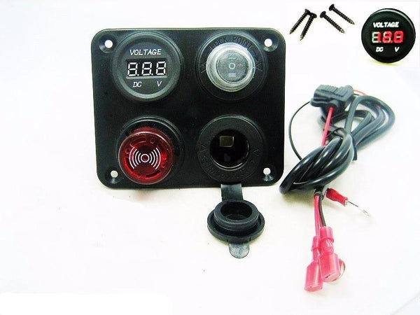 Tonal Battery Bank Monitor Minder Low Voltage Discharge Alarm 12 Volt Marine RV - 12-vtechnology