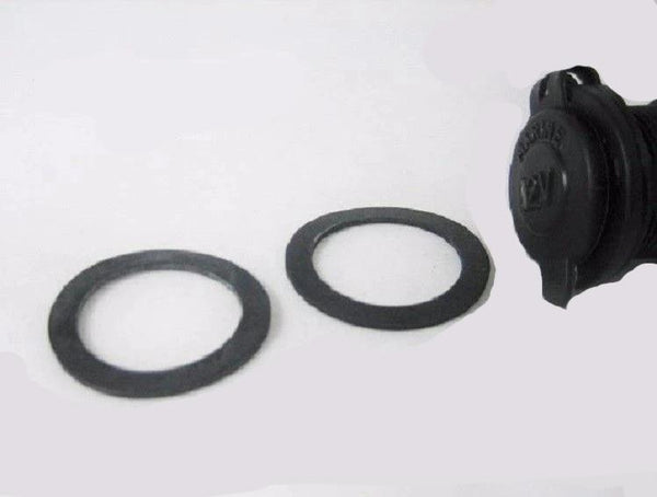 4X Rubber Waterproof Socket Sealing Washer Only 12 Volt Marine Motorcycle Outlet - 12-vtechnology