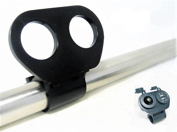 "Heavy Nylon Motorcycle Mount 1-1/8"" Holes, Handlebars 3/4"" , 7/8"". 1.0"", 1-1/8"" - 12-vtechnology"