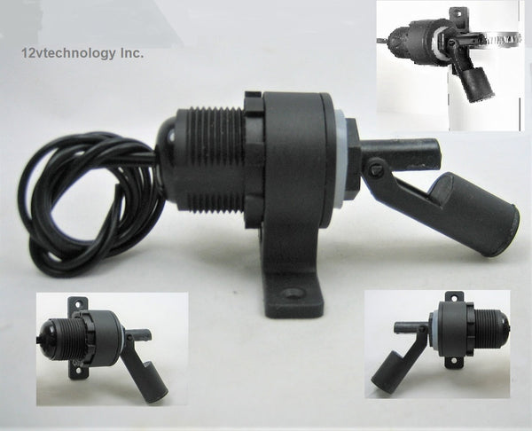 Marine Boat Side Mount Bilge Sump Pump Clam On Float Switch 12 Volt # Swflt1