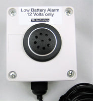 Stored Car Battery 12 Volt Low Discharge Alarm Monitor Detector & Charger Loss w/ Long Cable