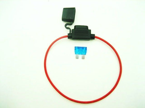 Special listing to add an Inline Fuse Holder when purchasing a socket product.