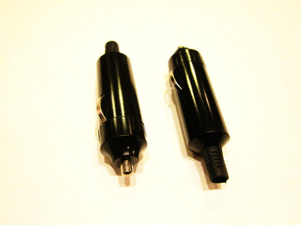5X Accessory Lighter Socket Plug 12 Volt Male Motorcycle - 12-vtechnology