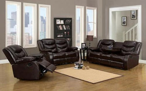 057 Black Collection Recliner Set