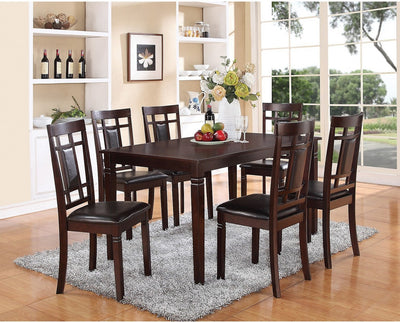 7 Pieces dining set | Infinite Imports Furniture Wholesale Company