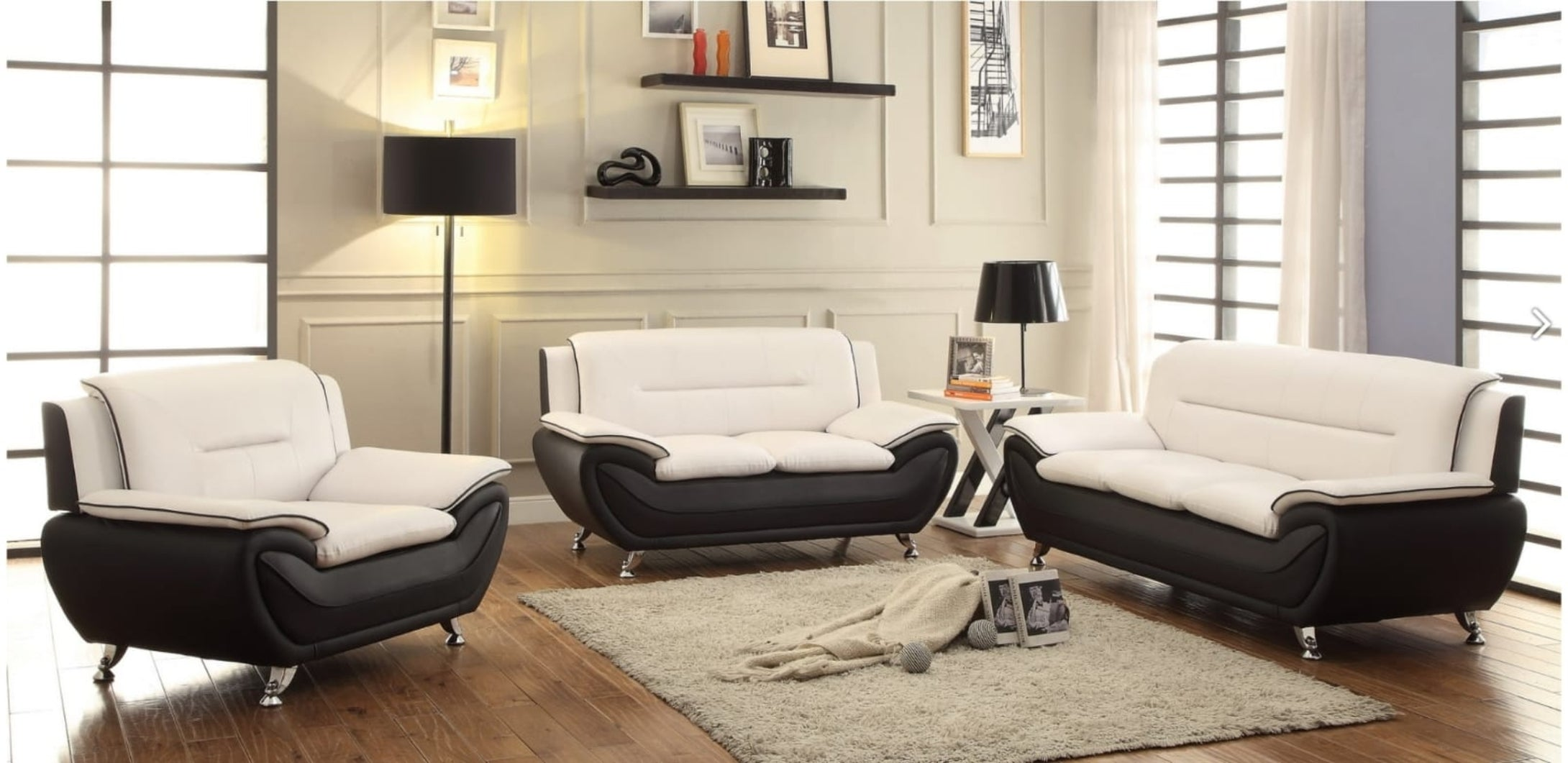 Speedy 2, 3 pc sofa set - Infiniteimports