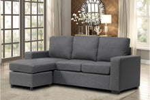 Load image into Gallery viewer, Mini Sectional Fabric Grey