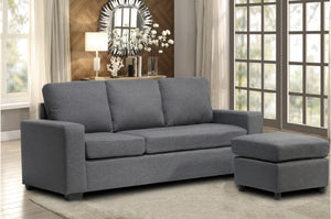 Grey Small Sectional | www.infiniteImports.ca