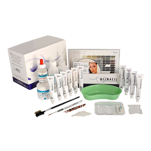 Belmacil eyelash and eyebrow training course with kit