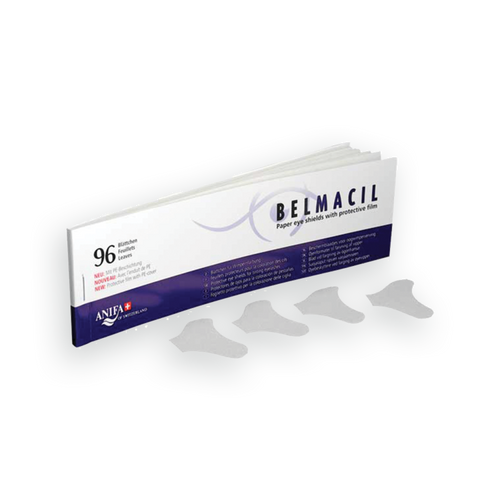 Belmacil Paper Shields to be a barrier for the skin while applying tint to lashes.