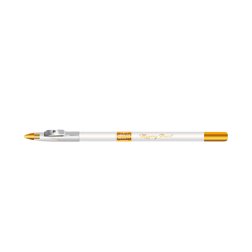 White Brow Mapping Pencil comes with built-in sharpener. Buy with our clear eyebrow sticky rulers for the perfect duo. Can be used for brow shaping, brow waxing, microblading, brow tint, brow henna or any brow service.