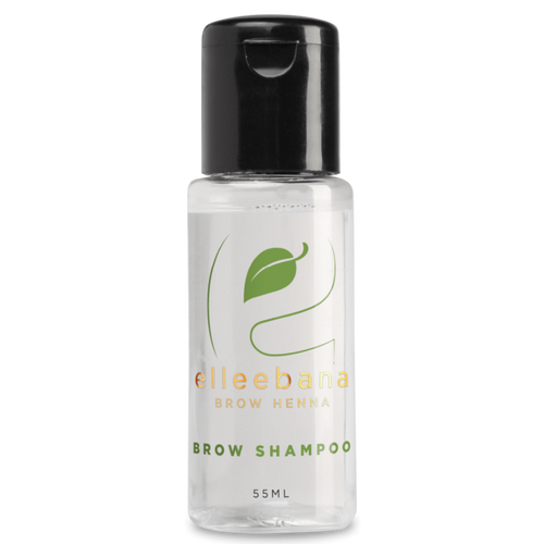 Henna Brow Shampoo to prep brow hair for brow henna service