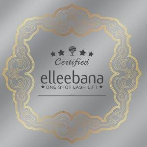 Elleebana clear window decal 8 x 8