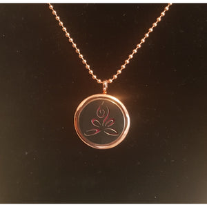 Yoga Diffuser Necklace