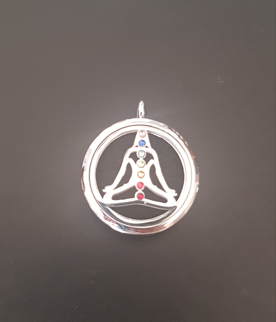 The Chakra Bling Diffuser Necklace
