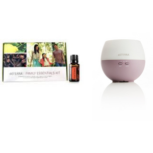 Family Essentials Kit + Petal Diffuser + 12 months wholesale membership