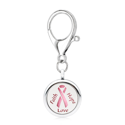 Diffuser - Keychain - Pink Ribbon
