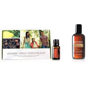 Family Essentials Kit with Smart & Sassy PLUS Fractionated Coconut Oil & 12 months wholesale membership