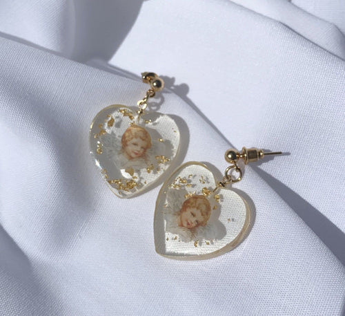 Ange De Mon Coeur Earrings