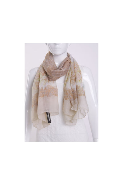 Scarf in Rose Print