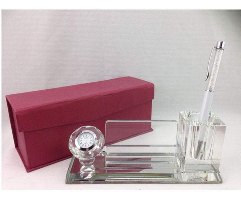 Crystal Card / Pen Holder