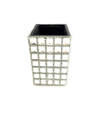 Diamante Make Up Brush Holder/ Pen and Pencil Holder