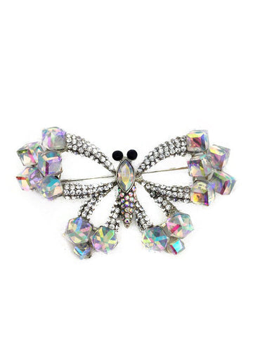 Butterfly Diamante Brooch