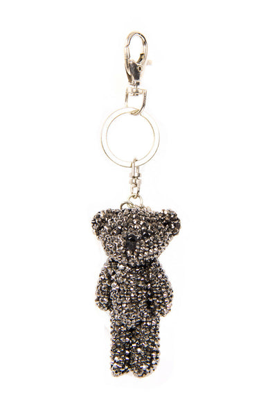 Teddy Bear DIAMANTE Keyring Bag