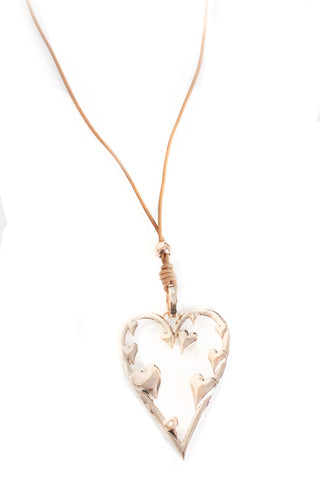 Heart Lagen Look Necklace for Women