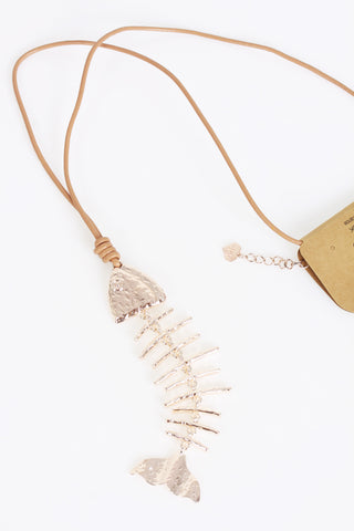 Fish Lagen Look Jewellry Necklace for Women
