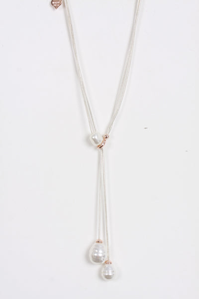 Tear Drop Pearl Jewellery Necklace for Women