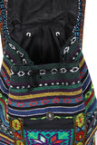 Multicolour Boho Style Embroidery Backpack Rucksack Bag