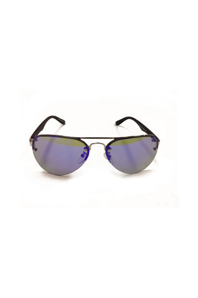 Aviator Glasses with Checkered printed arms