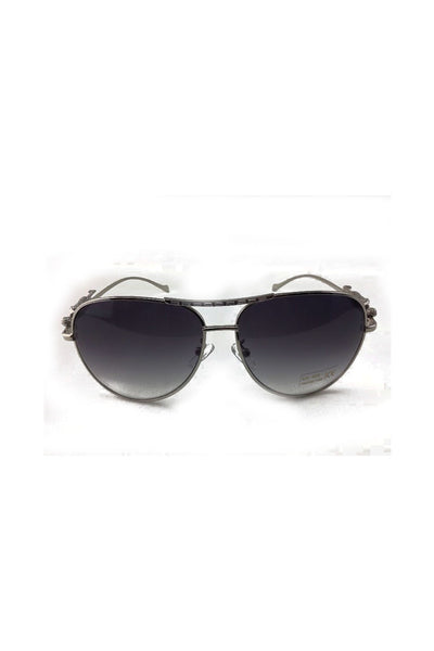 Aviator Sunglasses with jaguar detailed arms