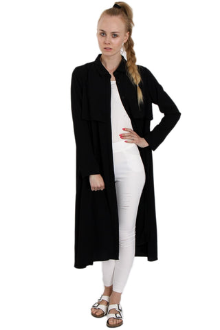 Longline Shirt Dress With Cape Back