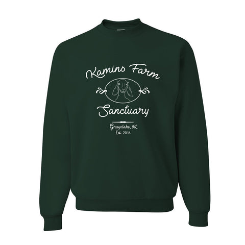 Forest Green Kamins Farm Sanctuary Crewneck