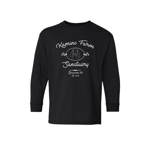 Youth Kamins Farm Sanctuary Long Sleeve