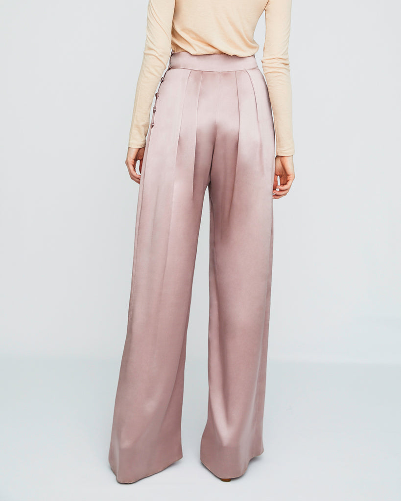 The Bjorn Pant in Dusty Rose - INGA-LENA