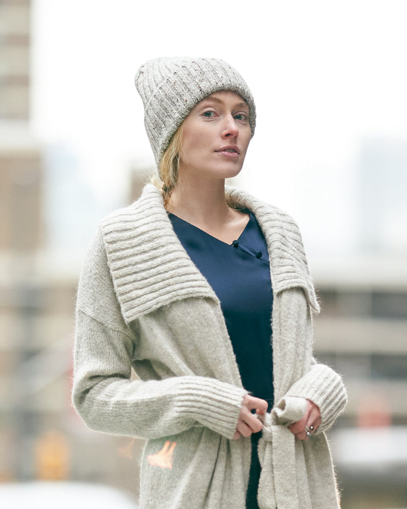 The Caden Beanie in Cashmere