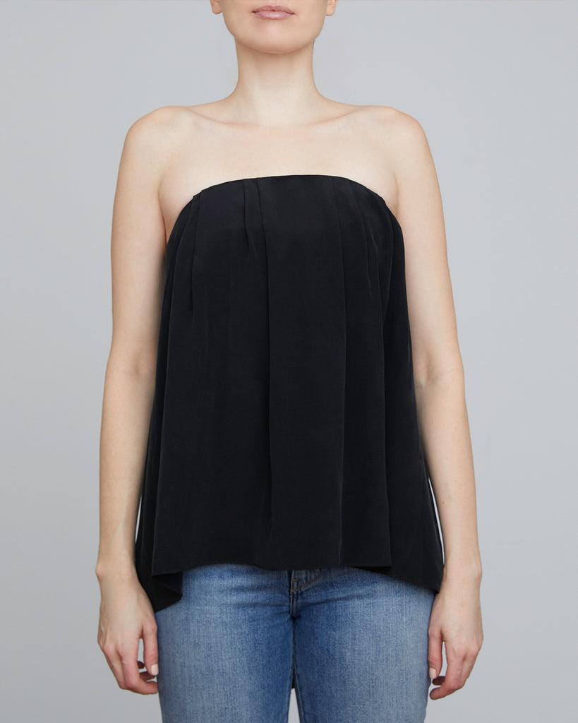 The Ida Top in Charcoal