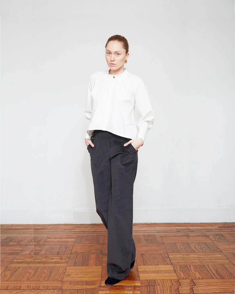 The Smirtje Pant in Charcoal