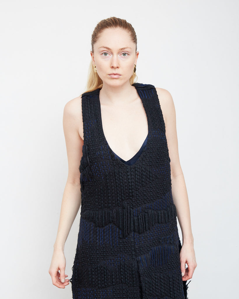 The Agneta Tunic in Black - INGA-LENA